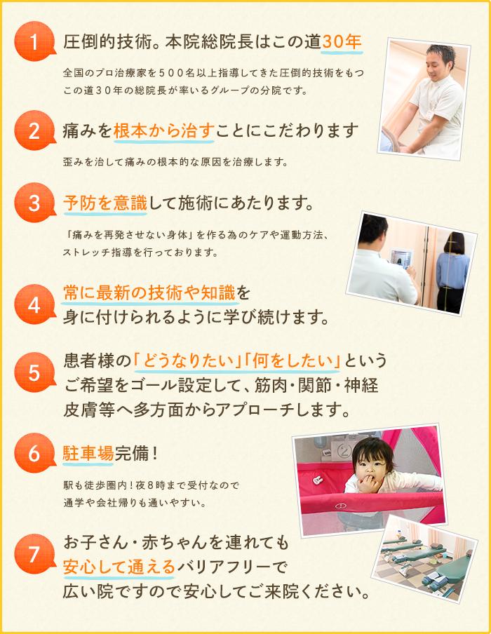 選ばれる7つの理由